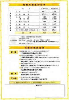 孟宗(生竹粉)ヨーグルト2