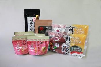 かのや紅はるかの加工品とお茶のセット品_5000円